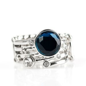 Blue ring paparazzi